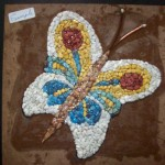 Pebble Butterfly Mosaic